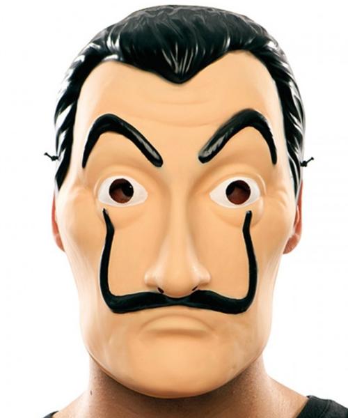 máscara ladrón Dalí la casa de papel