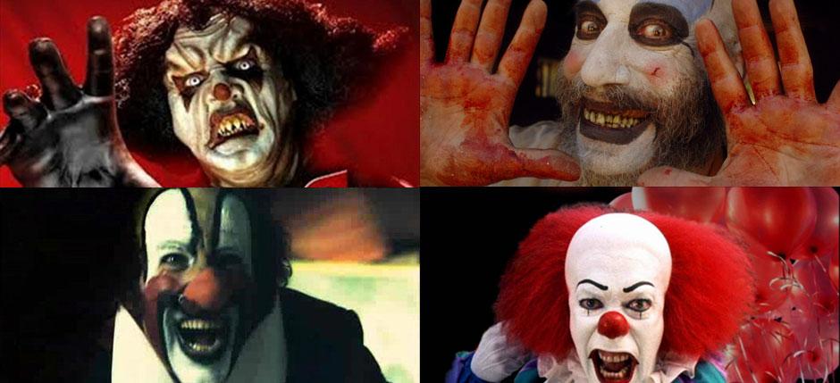 Listado Payasos trastornados Halloween (Primera parte)