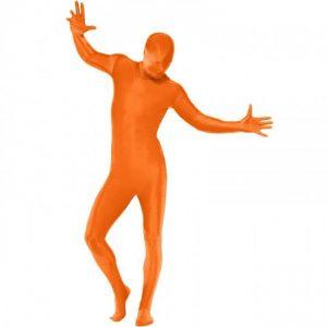 disfraz Zentai naranja