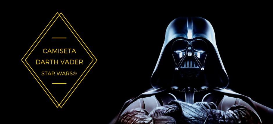 Disfrazarse de Darth Vader con una simple camiseta