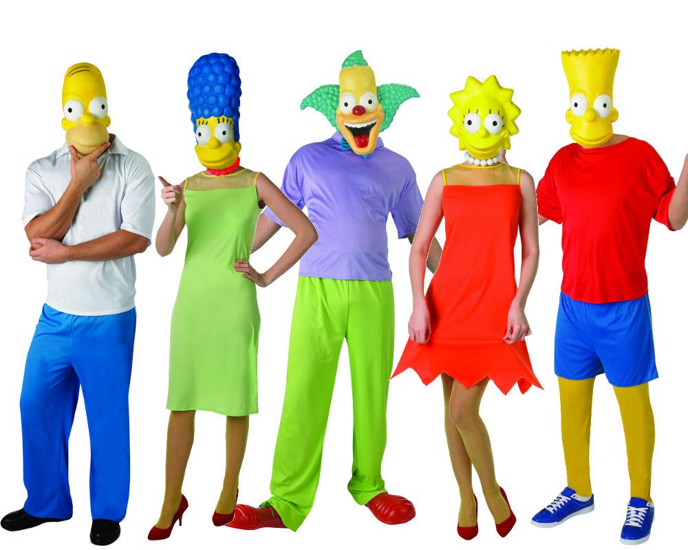 Resultado de imagen de disfraces de grupo originales simpson