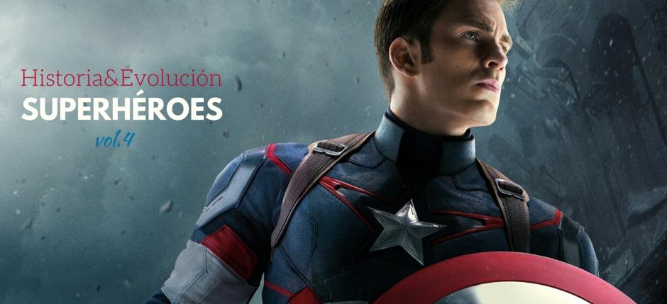 Historia y evolución de Capitán América