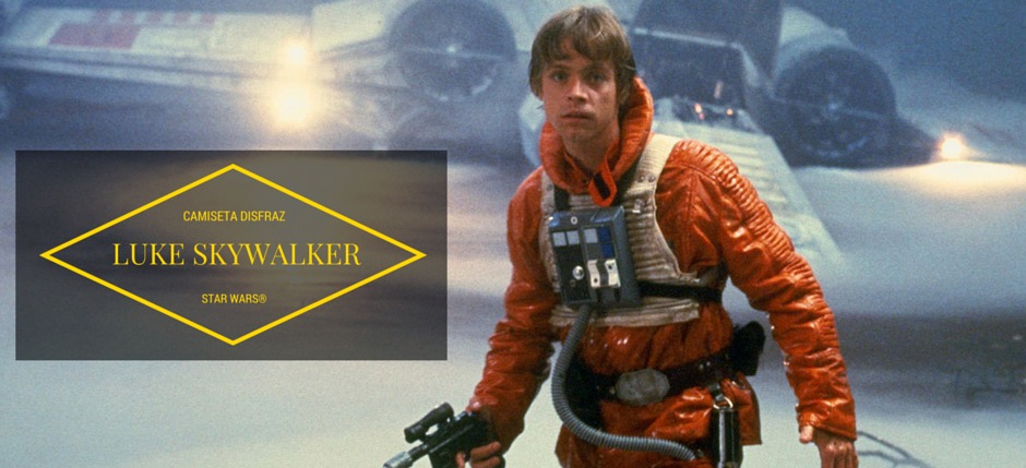 Camiseta para disfrazarse de Luke Skywalker