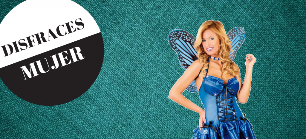 Encuentra tu disfraz para mujer en nuestra tienda online.