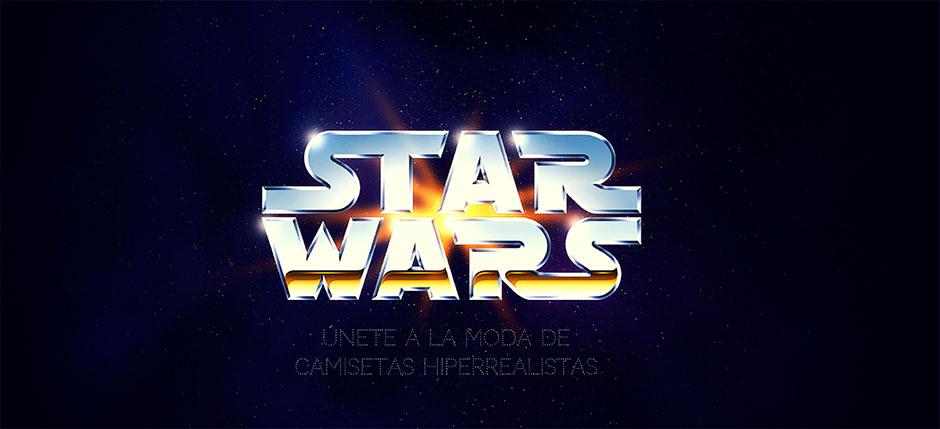 camisetas 3D star wars