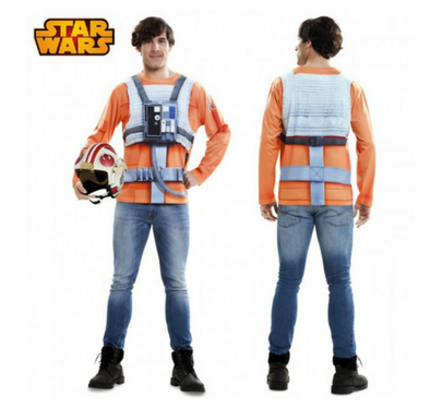 disfraz camiseta realista luke skywalker