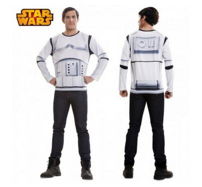 disfraz camiseta realista soldado imperial
