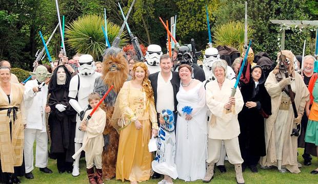 boda guerra de las galaxias