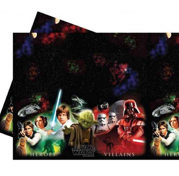 Mantel cumpleaños Star Wars