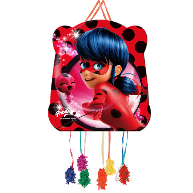 Piñata-pequeña-ladybug