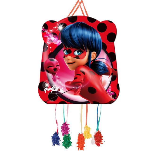 Piñata pequeña cumpleaños ladybug
