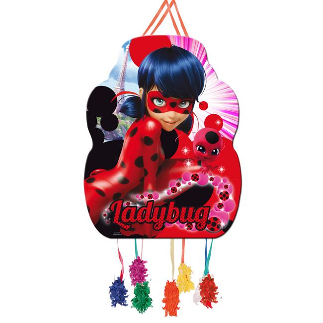 Piñata grande cumpleaños ladybug