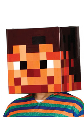 compra casco minecraft para un photocall