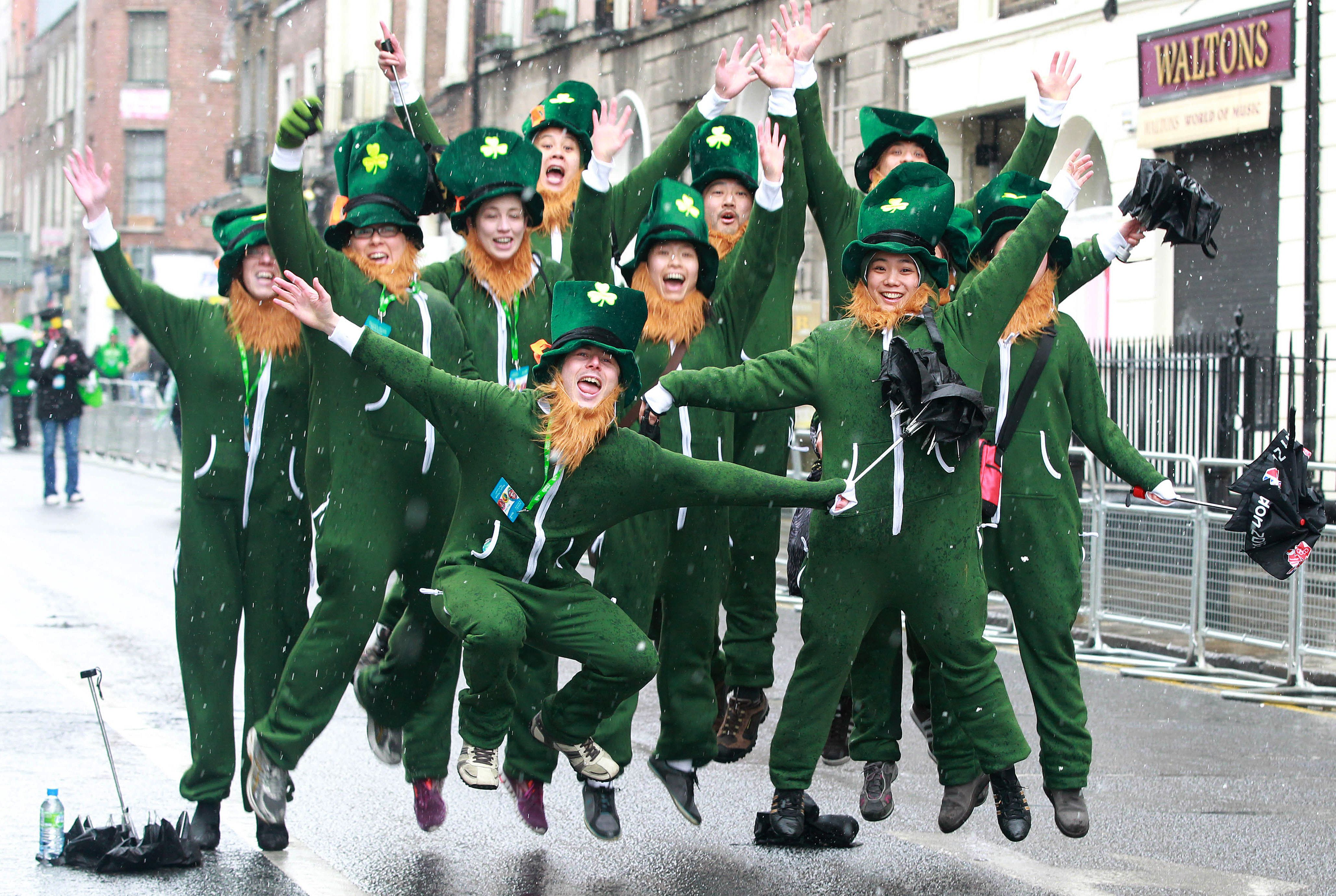 Disfraces para la fiesta de Saint Patrick's Day