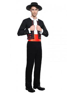 Disfraz de flamenco para hombre