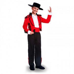 Disfraz cordobes rojo niño