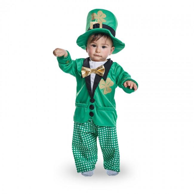Disfraz de duende leprechaun para bebé niño