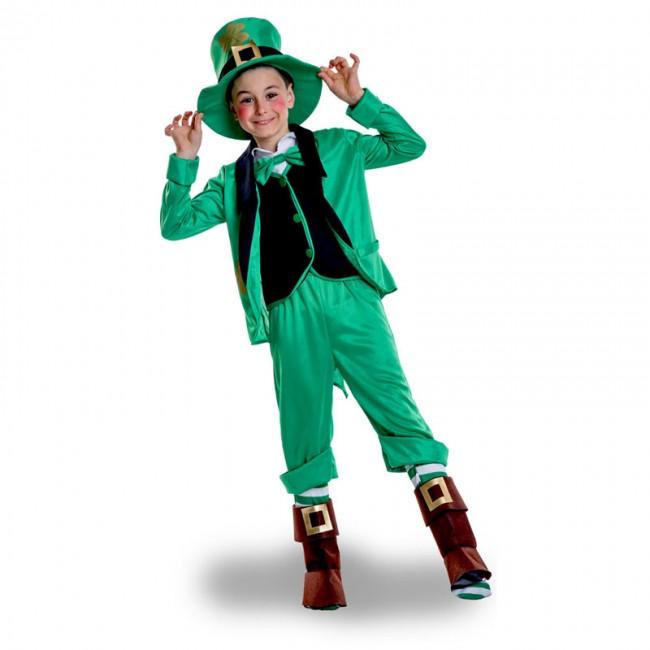 Disfraz de duende leprechaun para niño