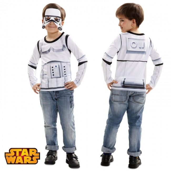 Camiseta hiperrealista Stormtrooper infantil