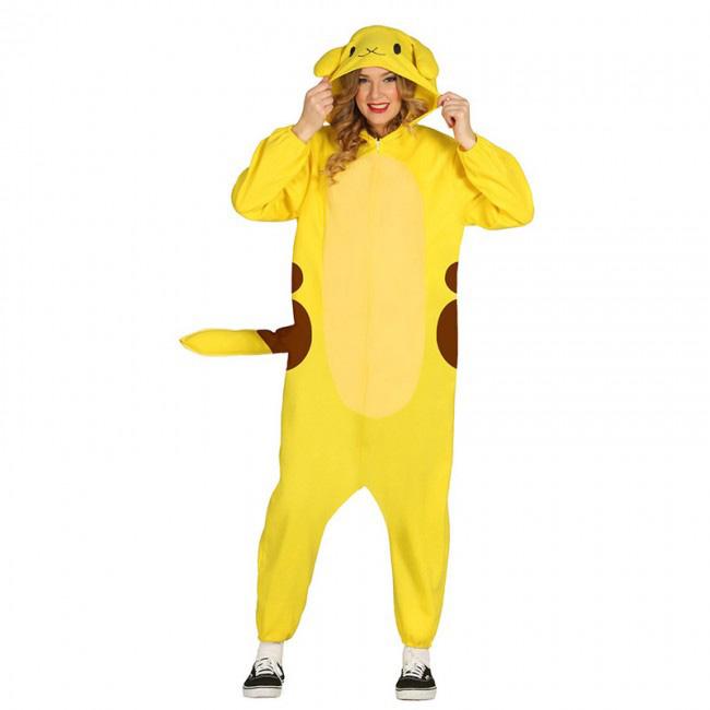 disfraz de pokémon pikachu para adulto