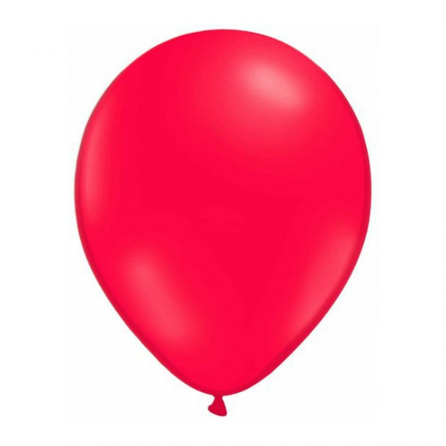 Globos rojos cumpleaños ladybug