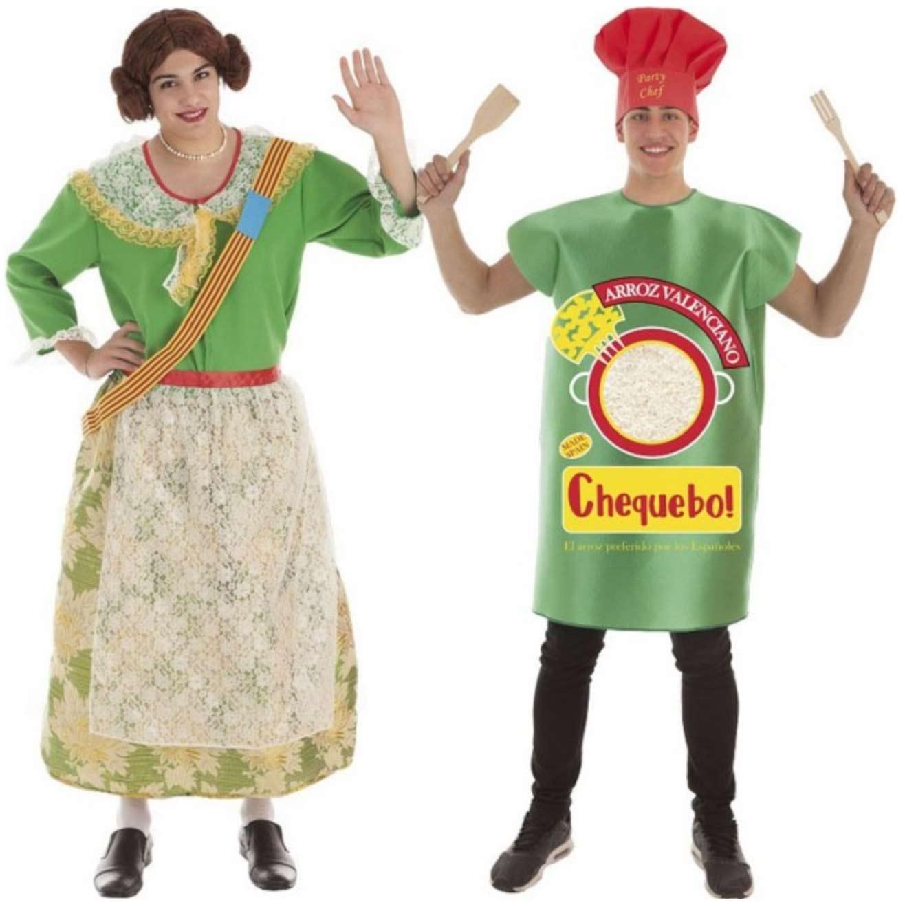 disfraz pareja fallera