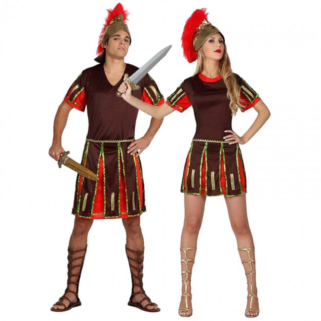 disfraces de centuriones romanos para parejas
