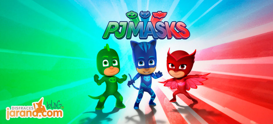 Conoce a los héroes PJ Masks