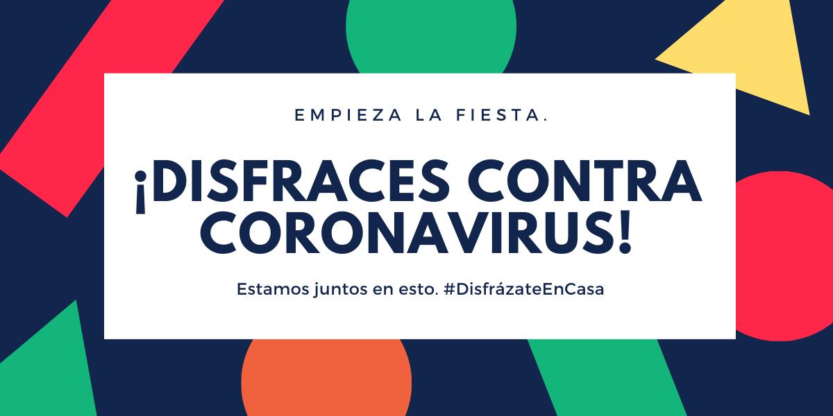 Nuevo blog de disfraces contra el coronavirus