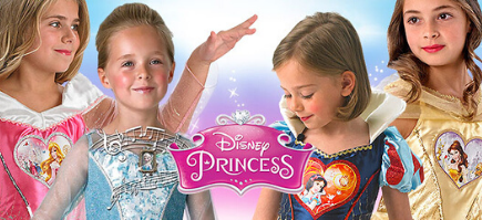 Disfraces Princesas Disney para niña