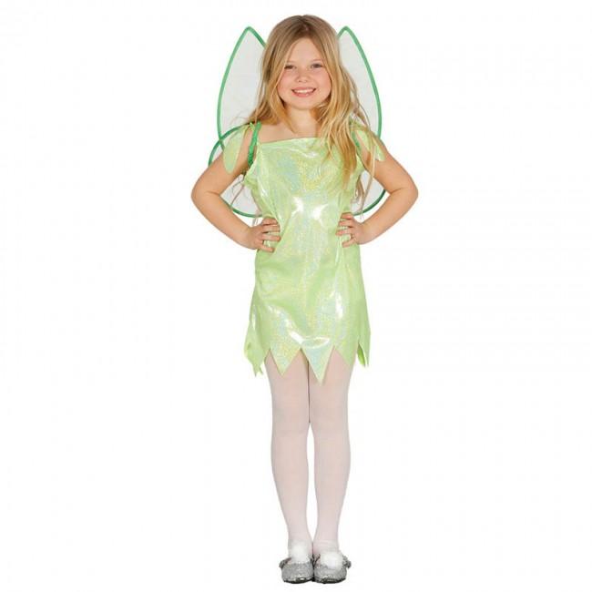 Disfraz de Hada Verde Campanilla Infantil