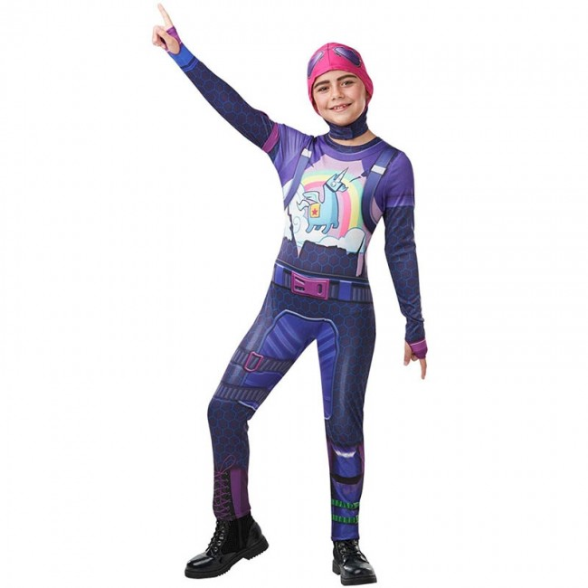 Disfraz de Brite Bomber Fortnite para niña