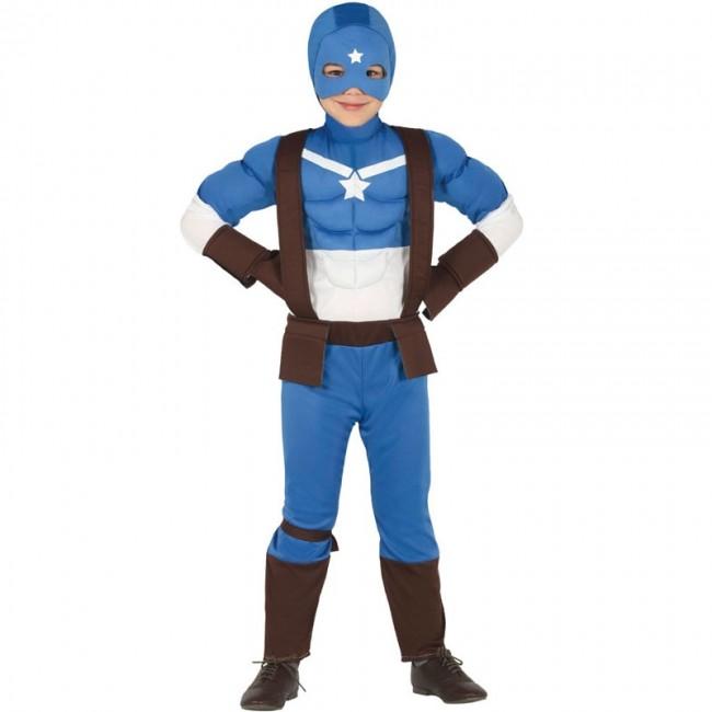 Disfraz de Capitán América Civil War para niño