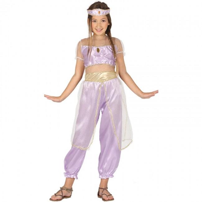Disfraz de Princesa Árabe Jasmine para niña