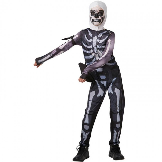 Disfraz de Skull Trooper Fortnite para niño