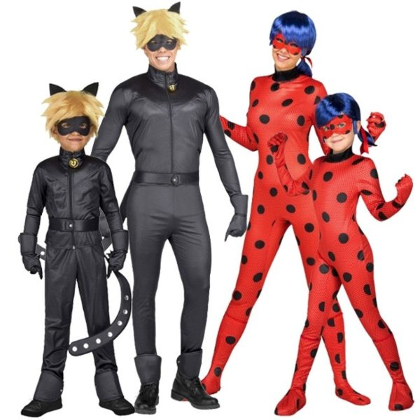 disfraz-familiar-ladybug