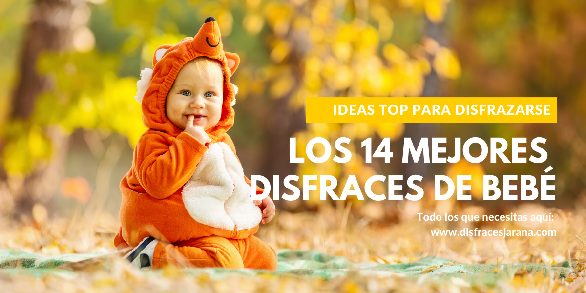 14 ideas de disfraces originales para bebés