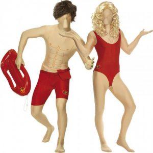 disfraz segunda piel los vigilantes de la playa