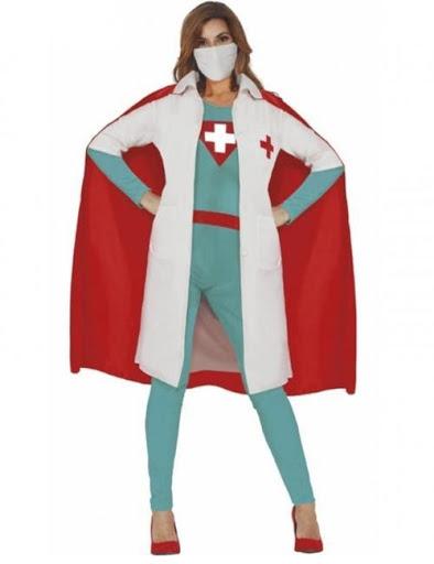 disfraz súper médica