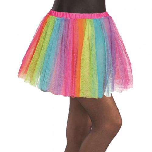 falda tutú multicolor