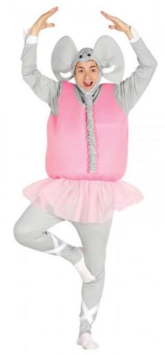 disfraz elefante bailarín
