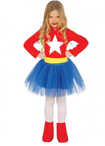disfraz wonderwoman infantil