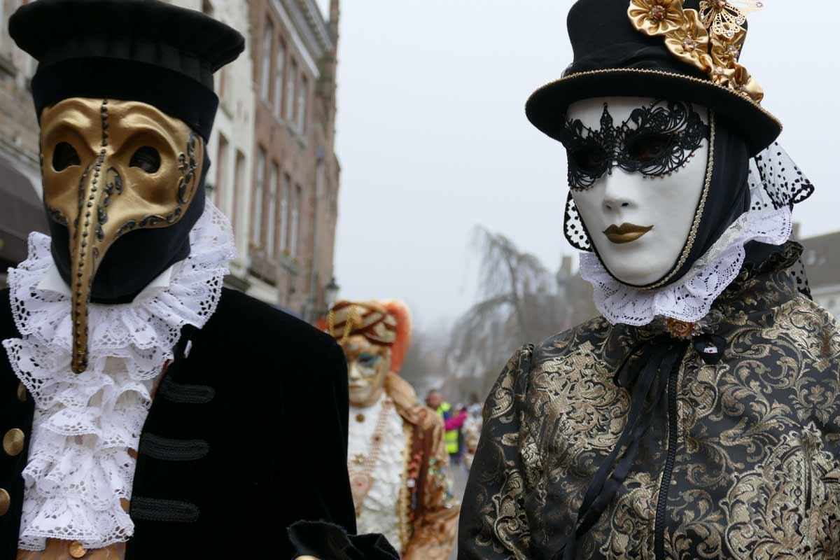 máscaras famosas en Venecia