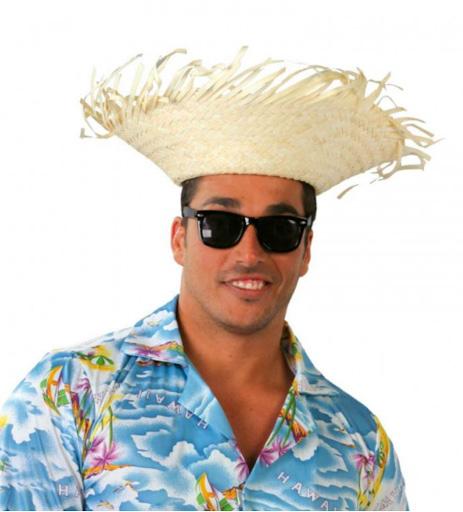 sombrero paja playero
