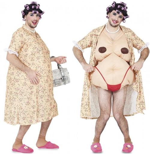 disfraz abuela sexy