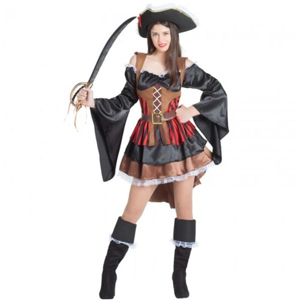 disfraz pirata bucanera