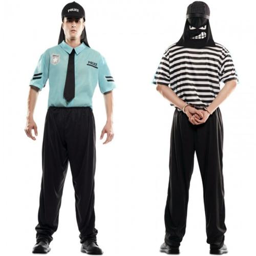 disfraz policia y ladrón