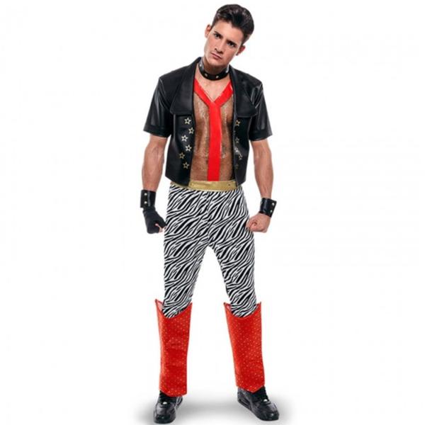 disfraz punk hombre