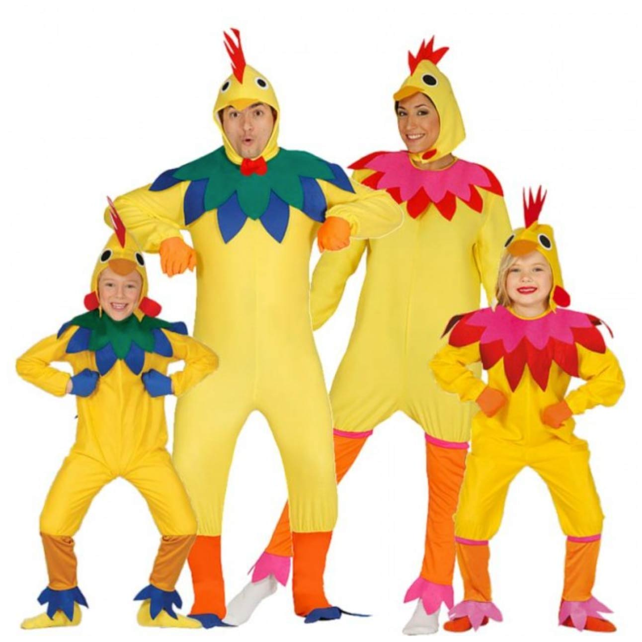 disfraz de pollo grupo