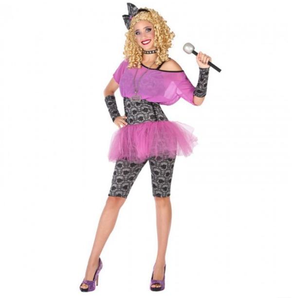 disfraz estrella pop mujer